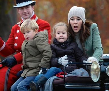 Princess Mary and Prince Fred take the kids deer hunting
