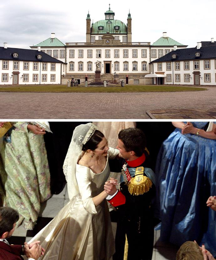 The hunt takes place on the grounds of Fredensborg Castle, which is in the Northern part of Denmark. It is the same place Princess Mary and Prince Fred had their wedding reception.