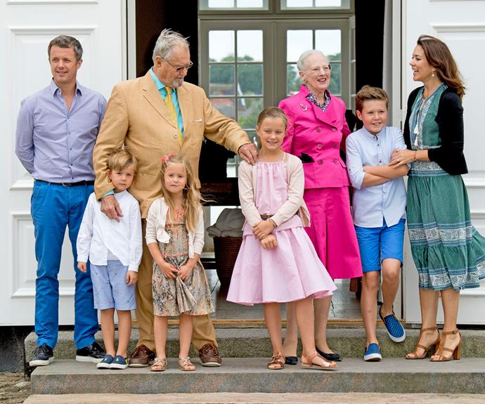 The Danish royal family have inherited some unique traditions.