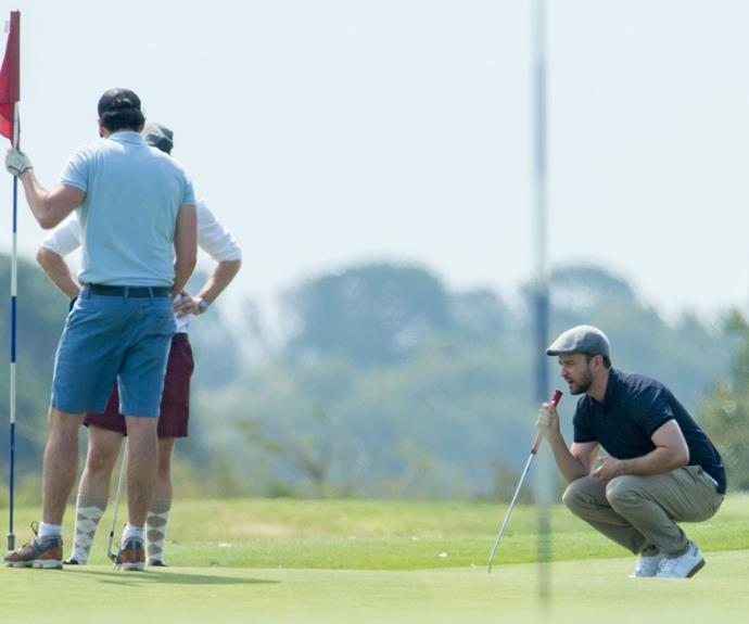 Justin Timberlake is an avid golf player.