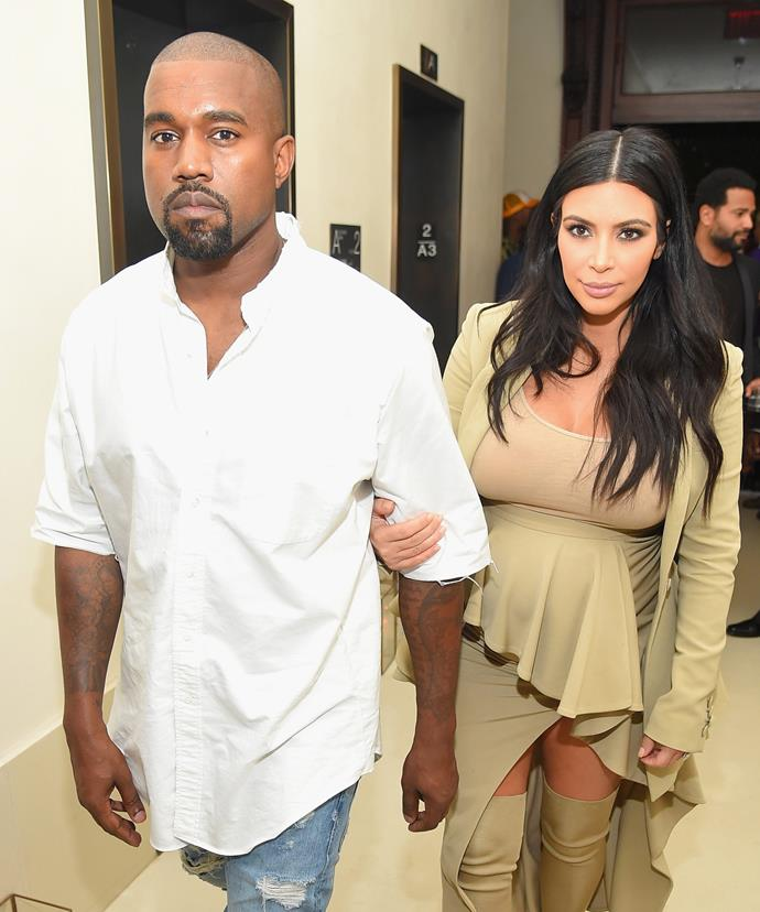 Despite rumours that their marriage was on the rocks, Kanye and Kim stepped out for a dinner date for the first time since he was hospitalised.