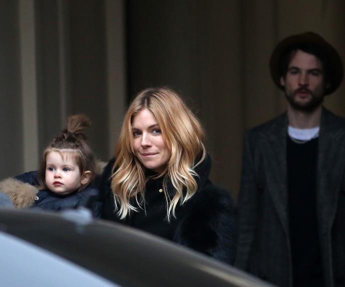 Marlowe Ottoline Layng Sturridge is Sienna Miller and Tom Sturridge's only child.