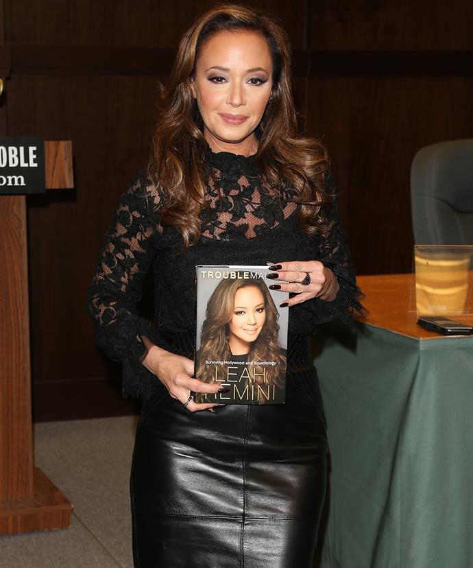 In 2015, the actress exposed the church in an explosive memoir titled, *Troublemaker: Surviving Hollywood and Scientology.*