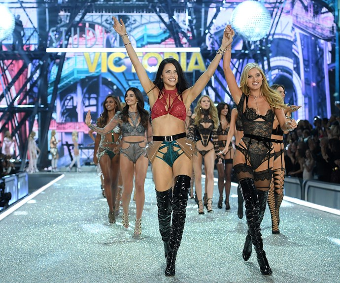 The Angels storm the runway in a jaw-dropping finale.
