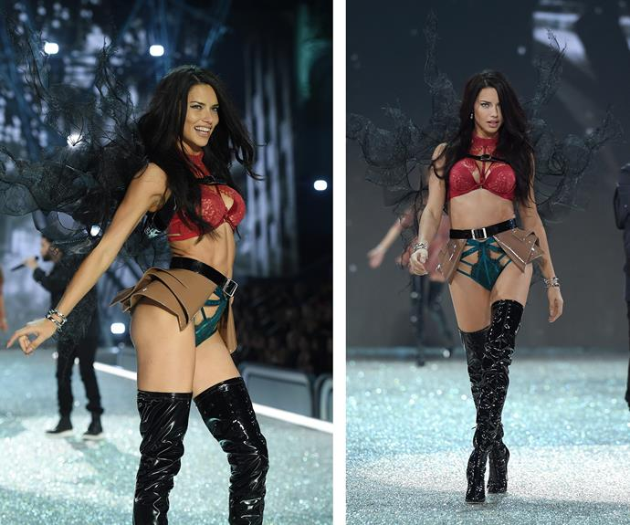 Longest-reigning Angel, Adriana Lima, proves she is as sizzling as ever.