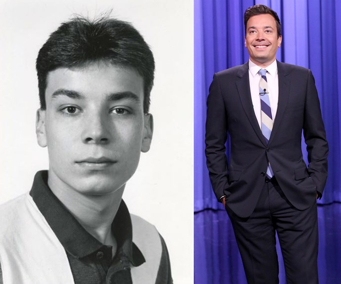 Who knew it was possible to love Jimmy Fallon even more? The talk show king posted this incredible photo from his first headshot in 1992.