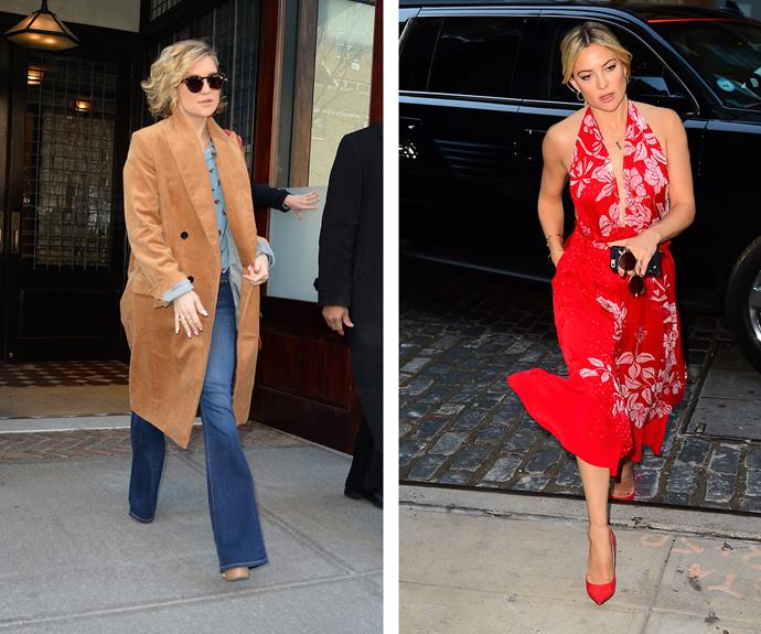 Kate Hudson is playful all year round with her look, but she sure steps it up for that summer sun!