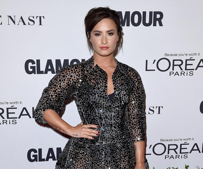 """I'd rather live my life free and open than closed off, where people like me for something that I'm not,"" [she says](http://www.refinery29.com/2016/05/109501/demi-lovato-confident-interview