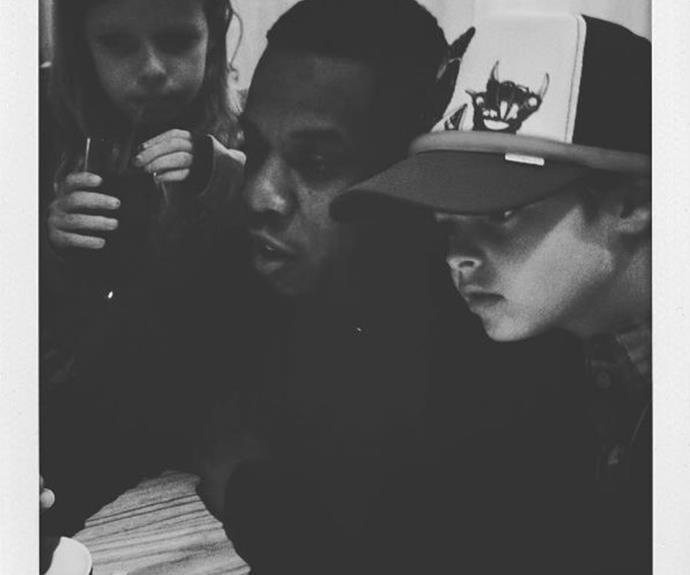 "It doesn't get much cooler than having Jay Z as your unofficial uncle and godfather figure! Gwyneth Paltrow and Chris Martin's kids Apple and Moses share a close bond with Jay and his wife, Beyonce. Proud mum Gwyneth recently posted this pic of the trio and mused: ""Happy birthday #unclejay.*"