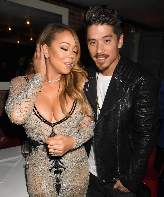 Mariah brought Bryan along as her date to the world screeing of her new show!