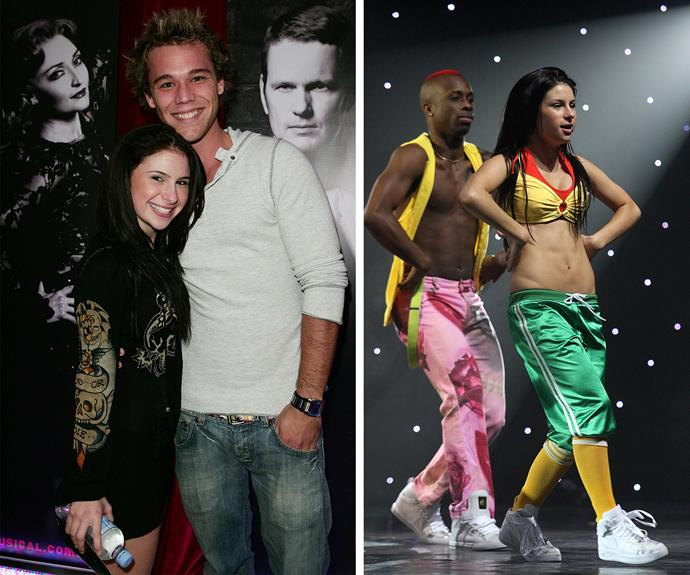 Kat, who is a dancer, dated Lincoln Lewis in 2009.