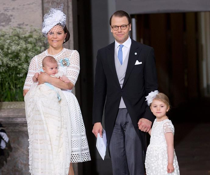 Prince Oscar Carl Olof, Duke of Skåne, made a grand arrival in early March, much to the delight of parents Crown Princess Victoria and Prince Daniel.