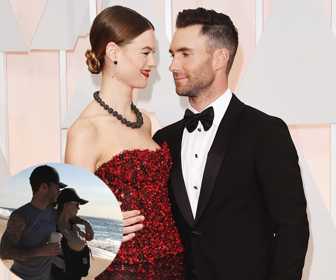 Rocker Adam Levine and VS Angel wife Behati Prinsloo welcomed a gorgeous baby girl, Dusty Rose, into the world together in late September.