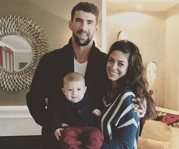 Boomer Robert is the adorable son of Olympian Michael Phelps and model Nicole Johnson. Born on May 5, the athlete-to-be is now five-months-old.