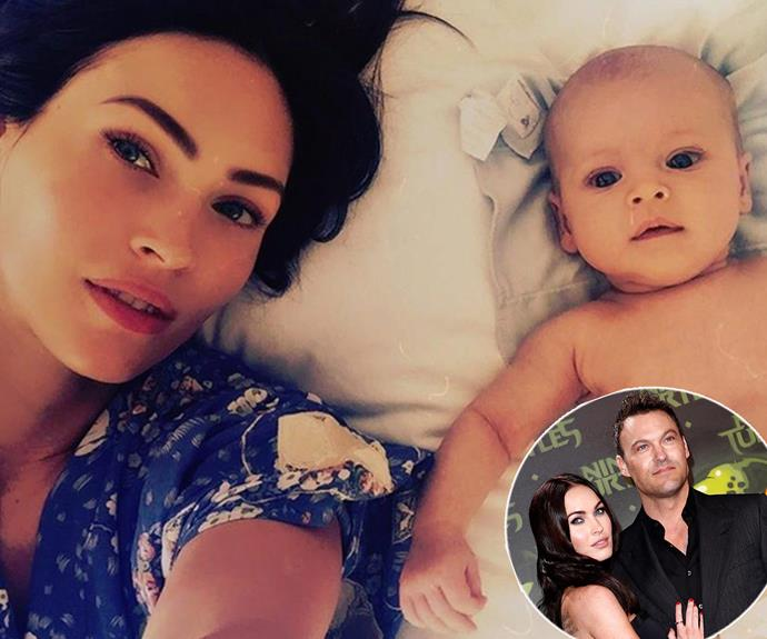 Born in August, baby Journey River Green is the third bub of Megan Fox and Brian Austin Green's family.