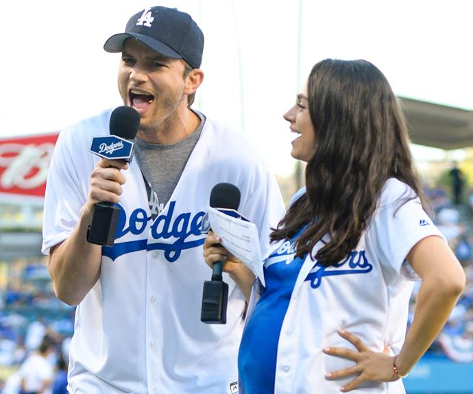 """In late November, Mila Kunis and Ashton Kutcher welcomed a second bub - a baby brother for their two-year-old daughter, Wyatt Isabelle. """"Dimitri Portwood Kutcher was born at 1:21 a.m. on November 30, weighing 8 pounds and 15 ounces,"""" the actor said in a statement."""