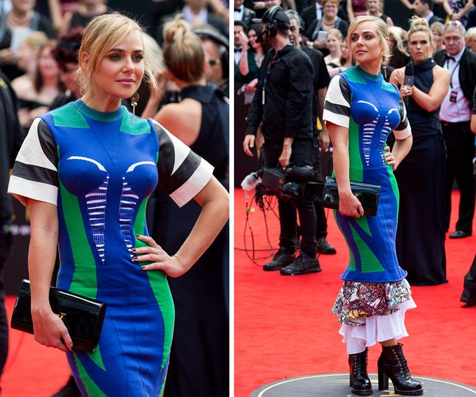 Jessica Marais knows how to make a bold statement!