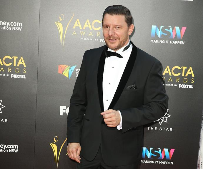 *MKR*'s Manu Feildel kept things classic in this tux.