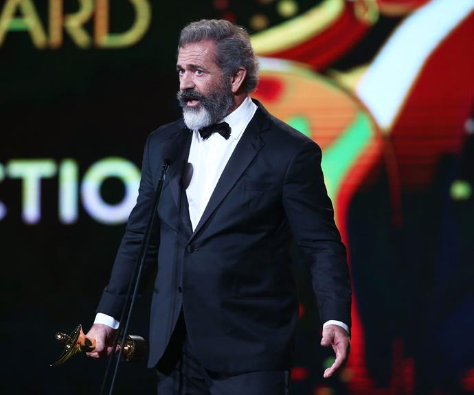 Mel Gibson's *Hackshaw Ridge* absolutely cleaned up at the AACTAs...