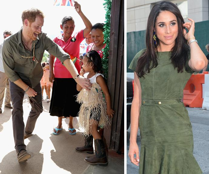 Harry surprised his new flame with a whistle-stop visit after his two-week tour of the Caribbean.