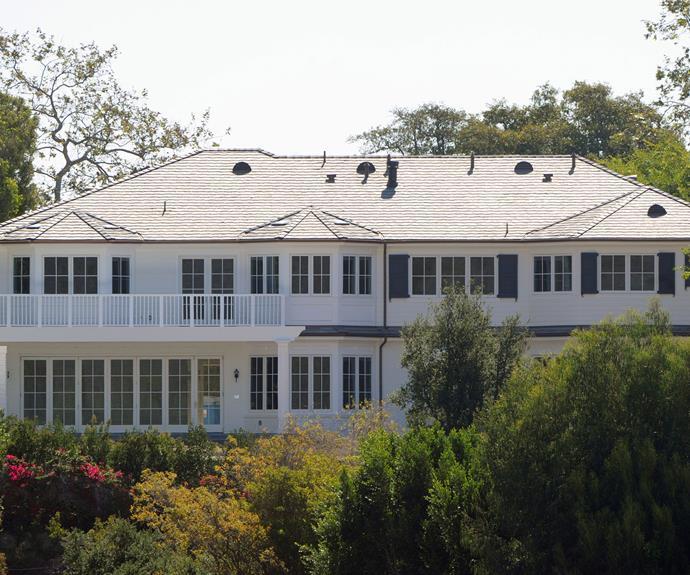 The five-bedroom home is in the same neighbourhood as Jennifer Garner, Tom Hanks, Matt Damon and Steven Spielberg.