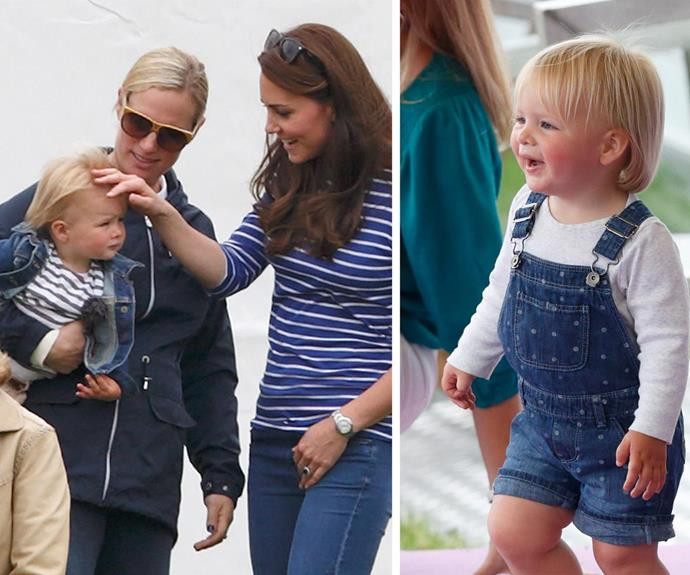 The Tindall bubs will no doubt love playing with Duchess Catherine's brood and cousins Prince George and Princess Charlotte