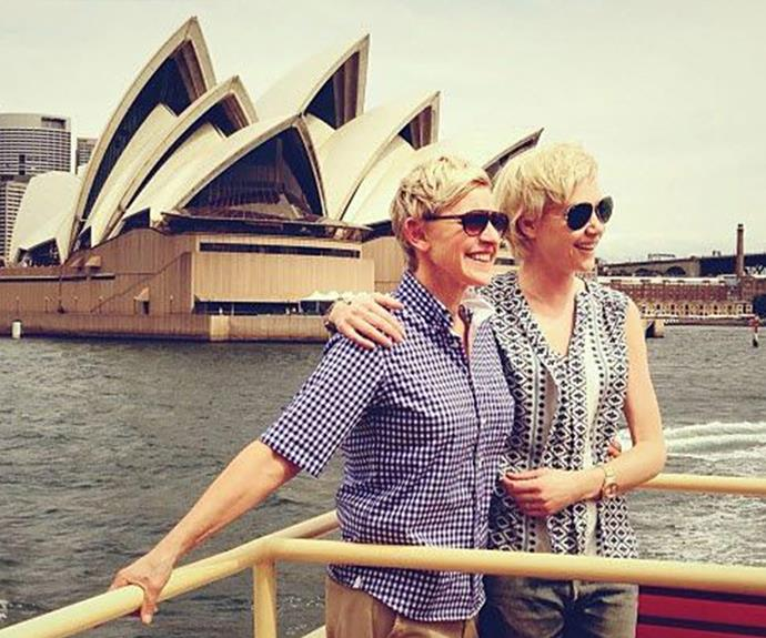 """Ellen has made her desire to live in Oz clear, once telling her audience members: """"I shouldn't put it out there but I can see us living here one day. I'm moving here, it's so beautiful."""""""