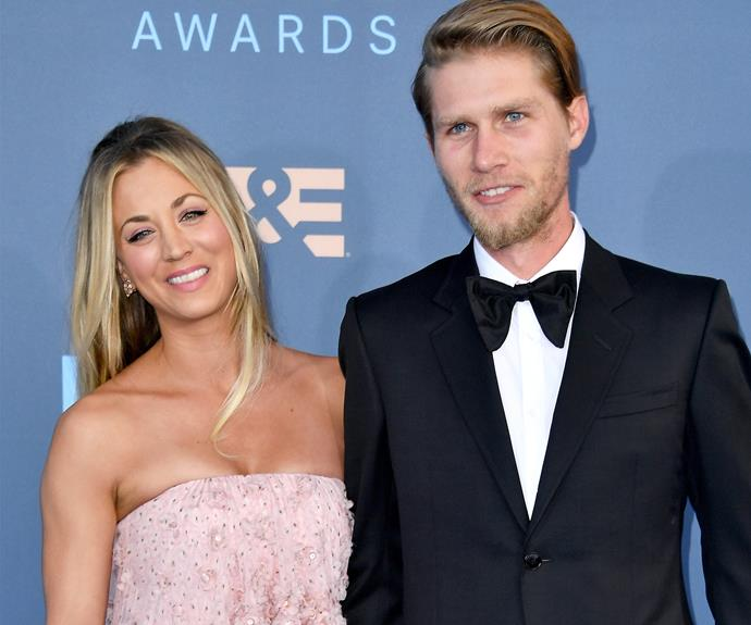 Kaley Cuoco looked head over heels in love with her new leading man, boyfriend Karl Cook.