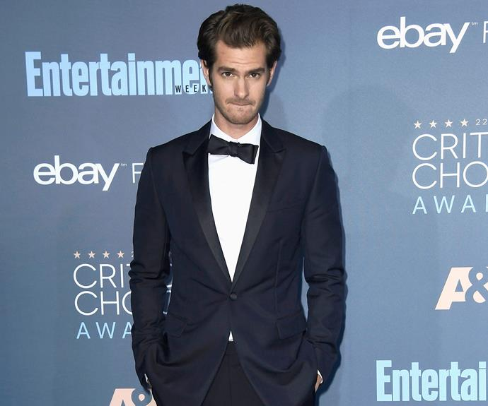 No doubt ex Andrew Garfield was mesmerised!
