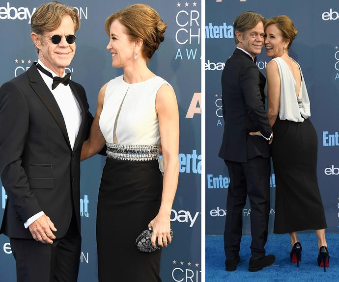 Aww, Felicity Huffman and William H. Macy are more in love than ever.