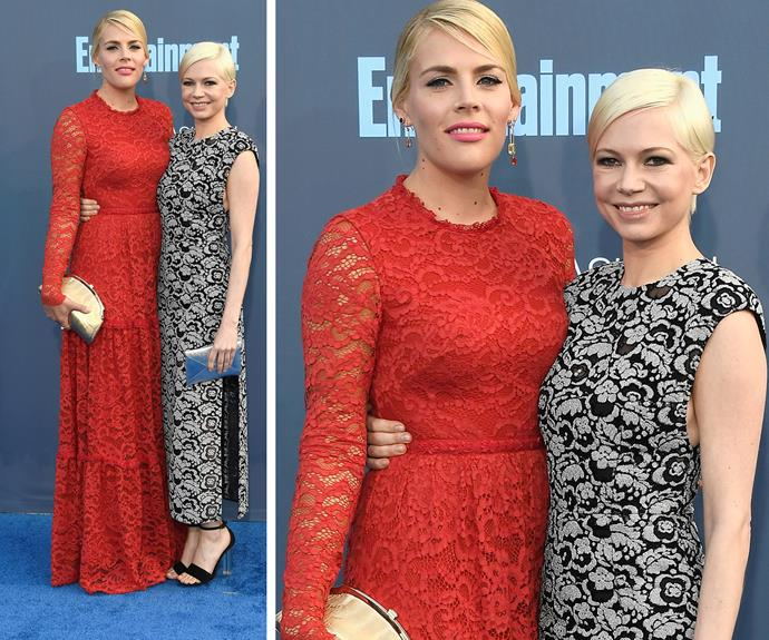 Besties unite! Busy Phillips and Michelle Williams made for the ultimate dream team.
