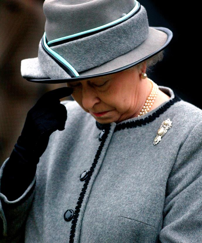 It is unusual for the Queen to attend the funerals of those who are not HRHs... But both Margaret and Elizabeth were very dear to the Monarch.