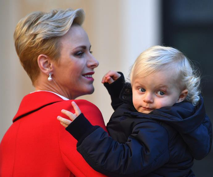 Prince Jacques and his magnificent blue eyes have certainly made a habit of stealing the spotlight!