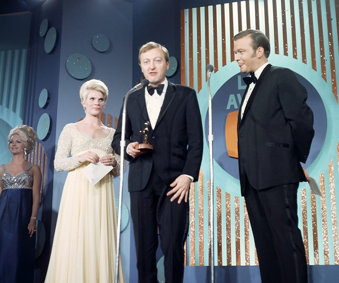 "The King of TV won the Gold Logie at the 1978 Logie Awards for his presenting work on *Blankety Blanks*. In typical Kennedy fashion he gave a funny acceptance speech in which he thanked himself! ""I would very much like to thank me for having faith in the Reg Grundy organisation"" he said."
