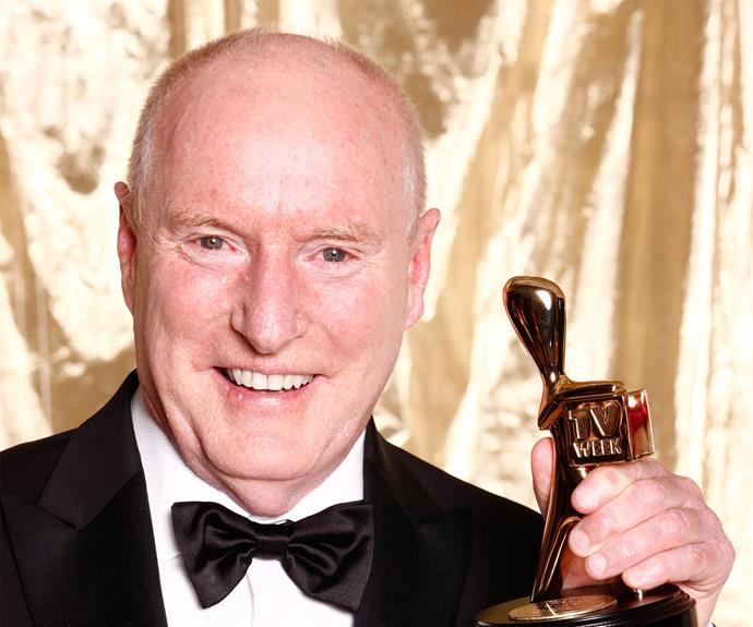 "**Ray Meagher finally gets the Gold!** <br><br> *Home And Away* alum Ray Meagher picked up his first Gold Logie in 2010, which also marked his first nomination for the coveted gong. Ray had a long wait for the nomination and win though; he had already portrayed Alf Stewart for 22 years before he received the recognition. When accepting the award, he remarked, ""In 1965, at the Regatta Hotel in Brisbane, I won a chook raffle. It has been a long time between drinks."" Classic!"