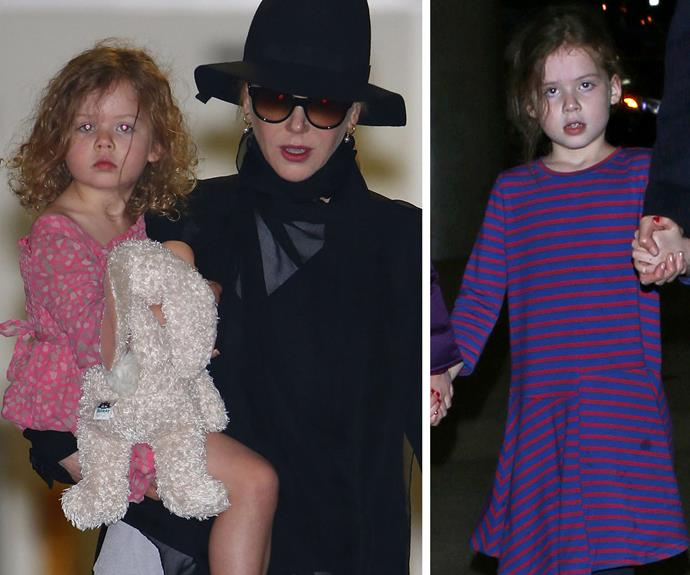 Talk about Nicole's mini-me! Faith is the spitting image of her mummy.