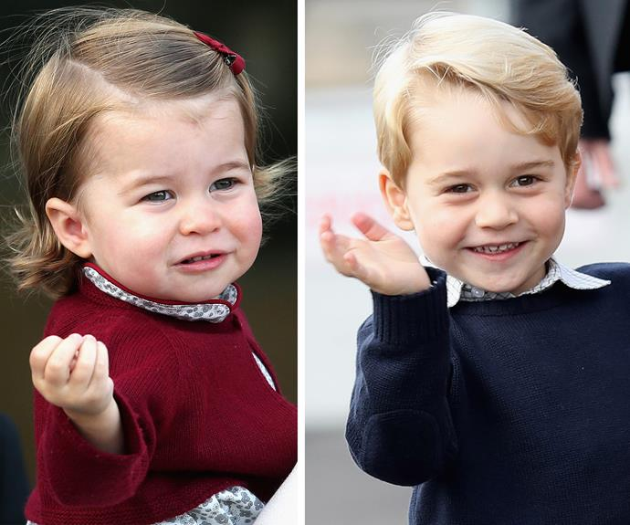 These cuties might get to be a part of two royal weddings next year!