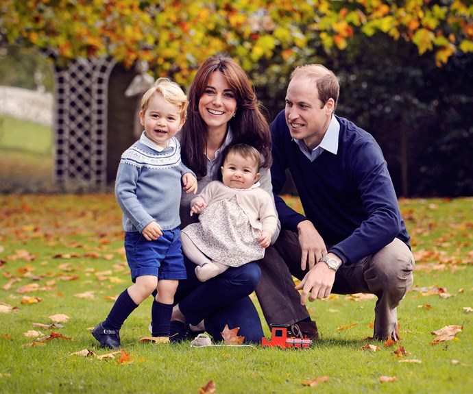 It will be Charlotte and George's first Christmas with their maternal side of the family.