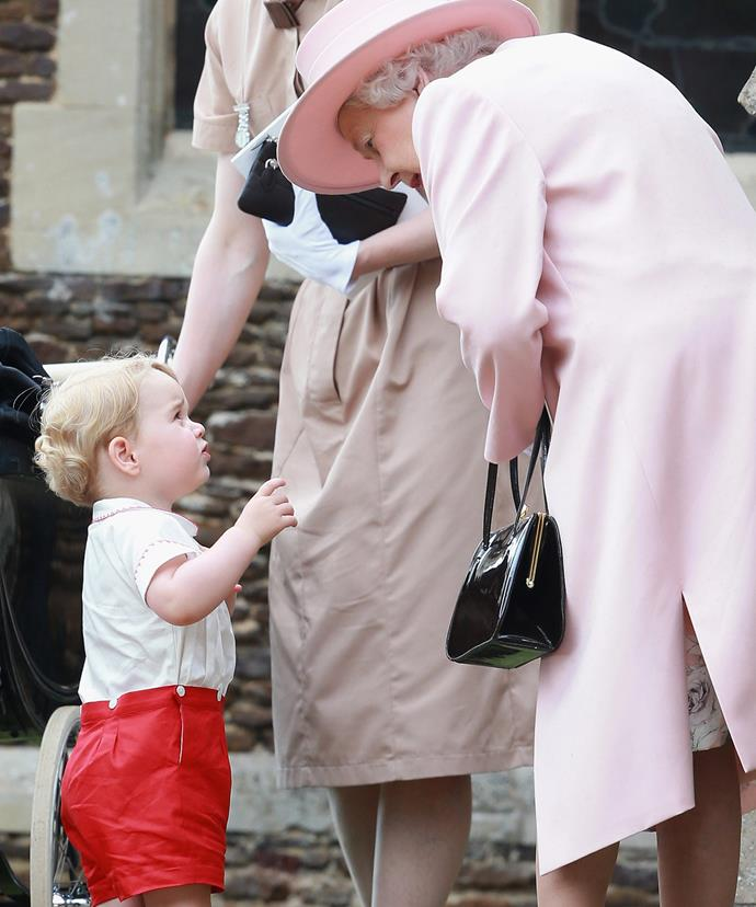 Prince George will still see his Gan-Gan