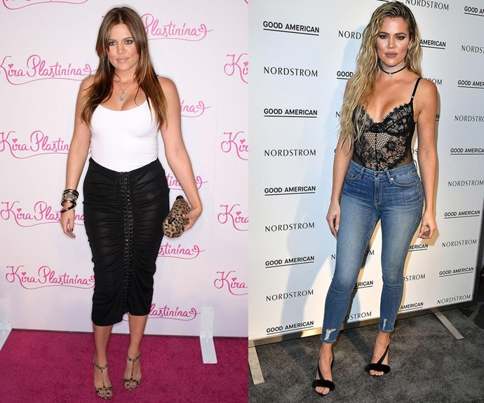 """The nutritionist was like, 'Kim has a body like a Ferrari, and you have a body like a Honda,'"" Khloe Kardashian [said recently](http://www.womansday.com.au/style-beauty/health-body/the-real-reason-why-khloe-kardashian-got-into-shape-17376