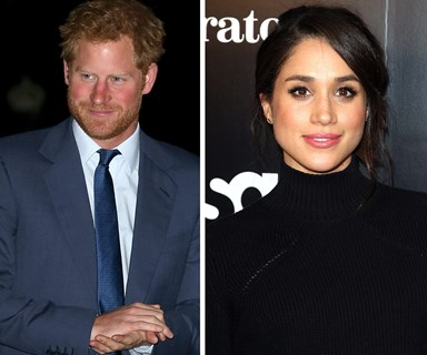Prince Harry and Meghan Markle totally Netflix and Chill