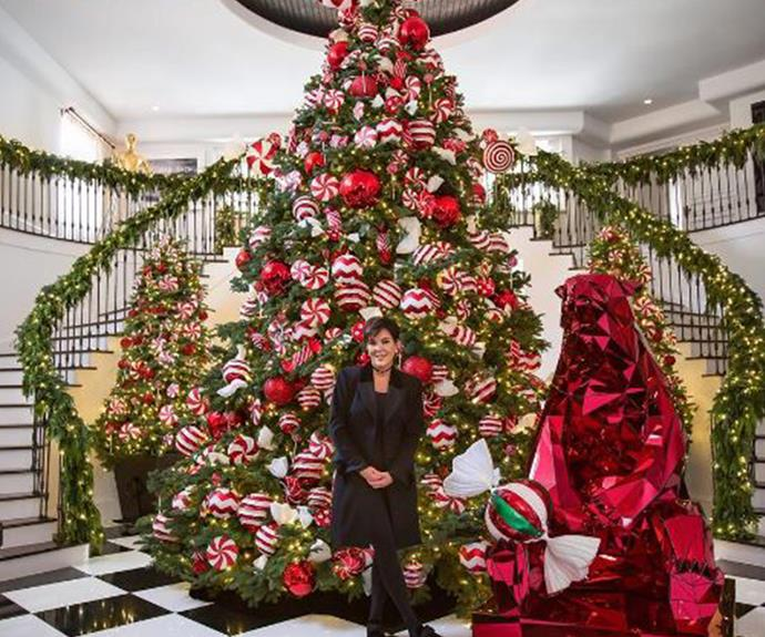 She's a beauty! Christmas queen Kris Jenner has outdone herself with this year's spectacular creation.