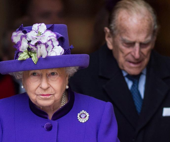 "The Queen has previously referred to her husband Prince Philip as her ""strength and stay""."