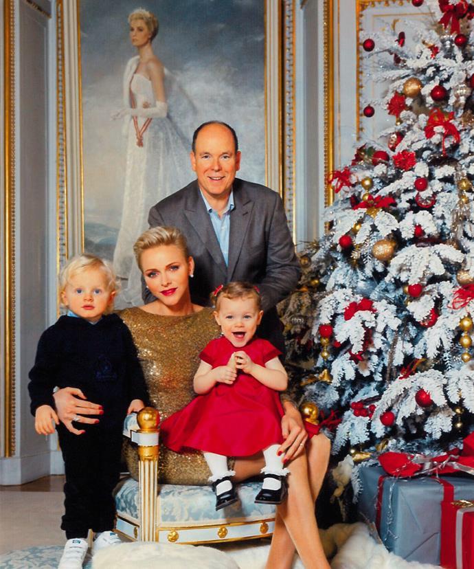 Princess Grace overlooks the family-of-four (Vanessa von Zitzewitz/Monaco Palace)