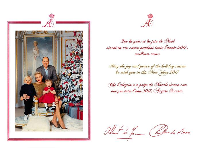 The twins work black and red ensembles (Vanessa von Zitzewitz/Monaco Palace)