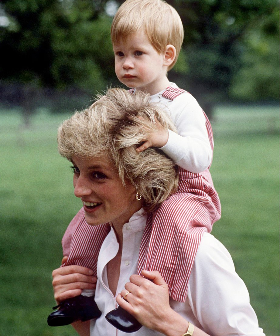 "Prince Harry says while everything he does remind him of his mother, it's the press the reminds him of the ""bad stuff, unfortunately"". *(Image: Getty)*"