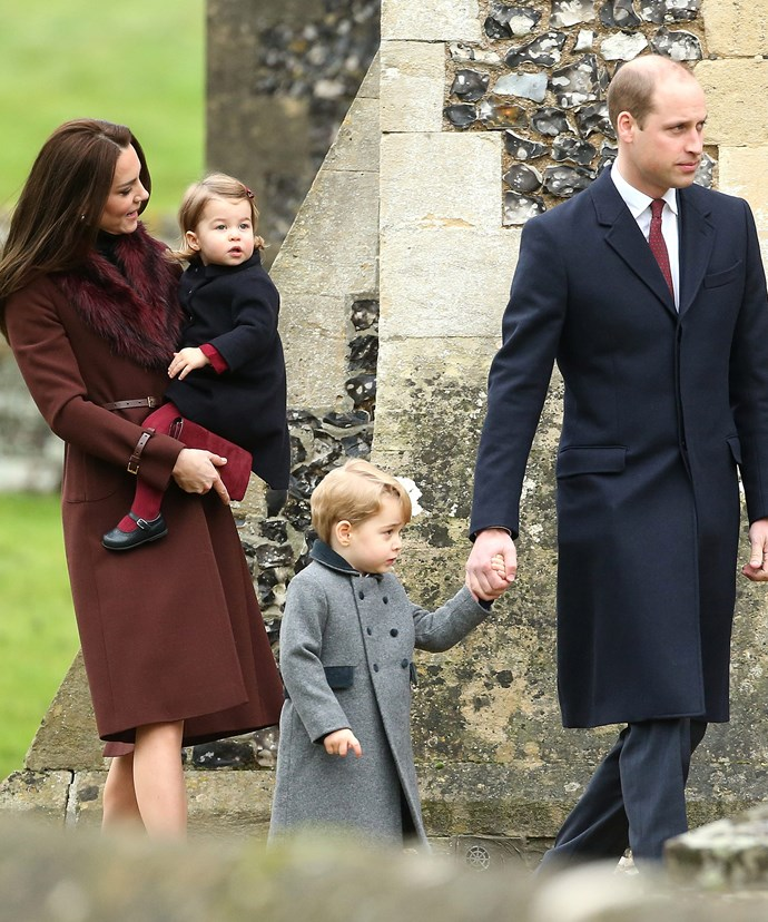 Following church, the Cambridges will head to the Middleton's Bucklebury home for lunch.