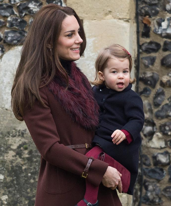 So adorable! Charlotte has grown so much since the royal tour of Canada in September.
