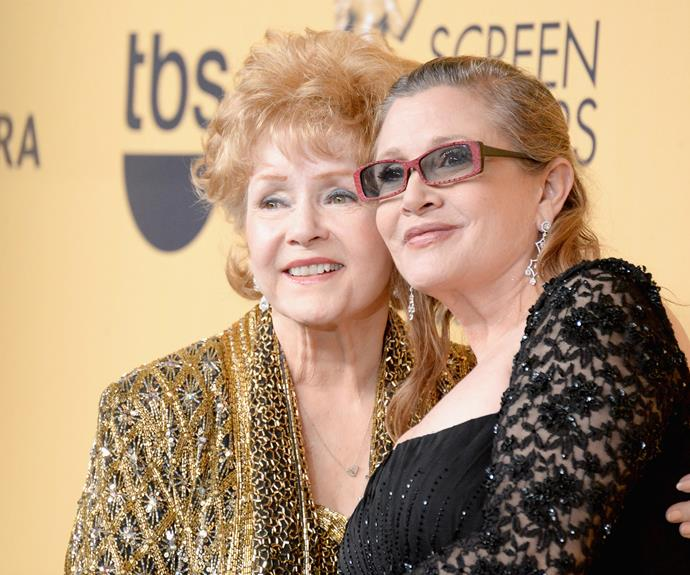 "The 60-year-old's mother and actress, Debbie Reynolds, has honoured her ""beloved and amazing daughter."""
