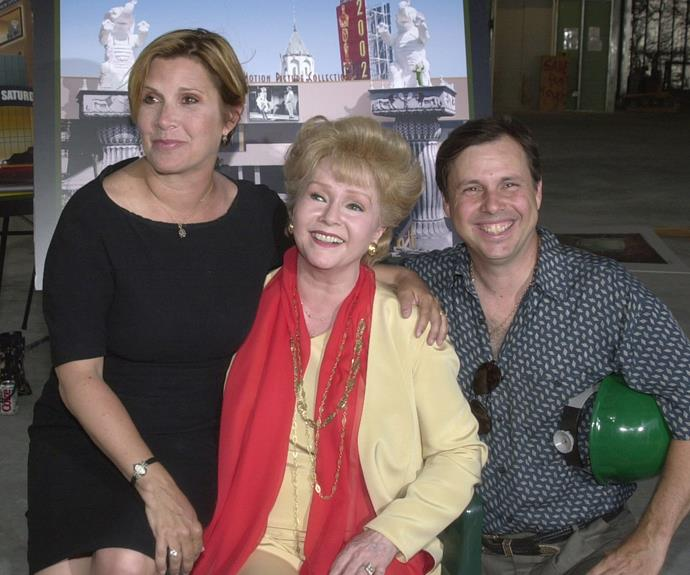 Carrie, Debbie and Todd in happier times.